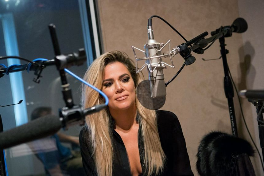 Khloe Kardashian during an interview at Bloomberg News in New York in 2016.