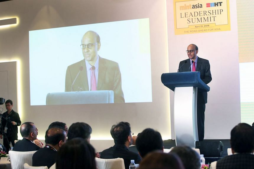 Deputy Prime Minister Tharman Shanmugaratnam stressed that Asia should not take the ongoing trade friction between the United States and China as a sign to start turning inwards.