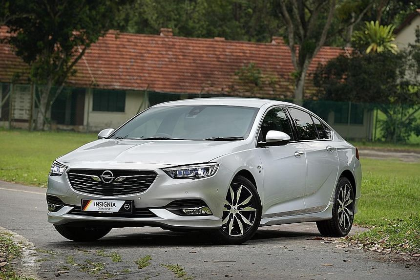 Opel's 1.5-litre Insignia offers a breezy drive and is a spacious car with head-up display, 8-inch infotainment touchscreen and a host of the latest safety features.