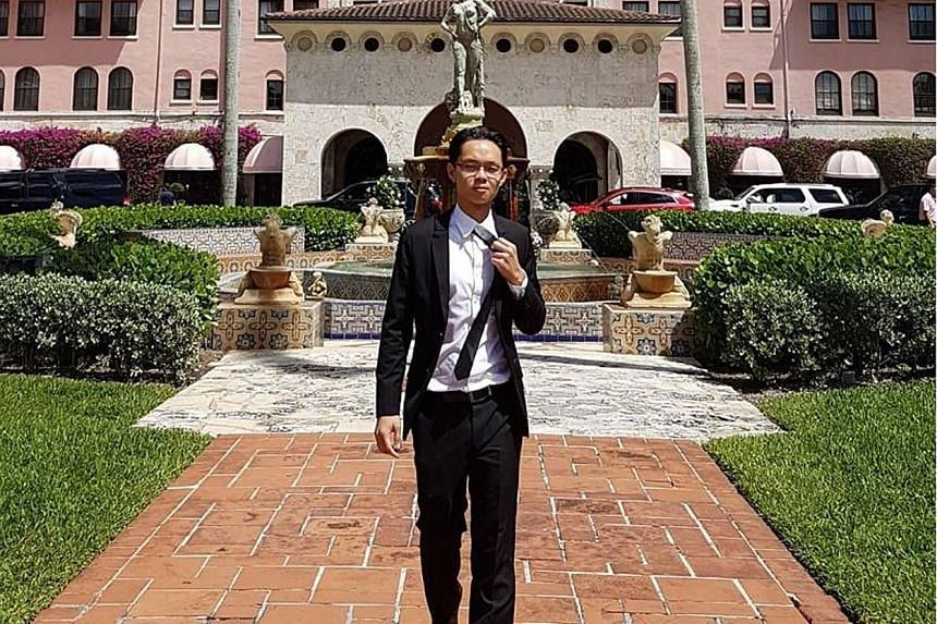 Medical student Joshua Tan was in a rental car with two others when the accident occurred.