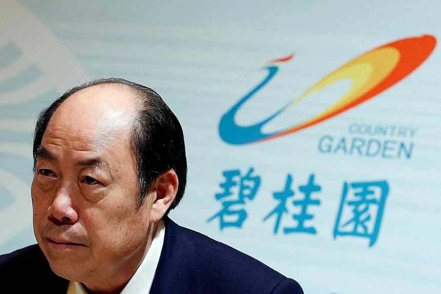 Country Garden chairman Yeung Kwok Keung said staff should submit project plans to local governments the day after successfully bidding for land.