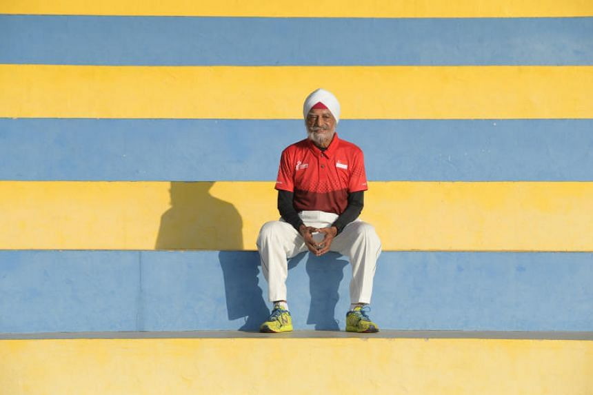 Ajit Singh Gill has struck gold five times in regional race walking events, including winning the 5,000m race walk at the Asia Masters Athletics Championships on home soil in 2016.
