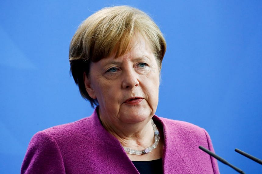 German Chancellor Angela Merkel had said Germany would not take part in any military action against Syria.