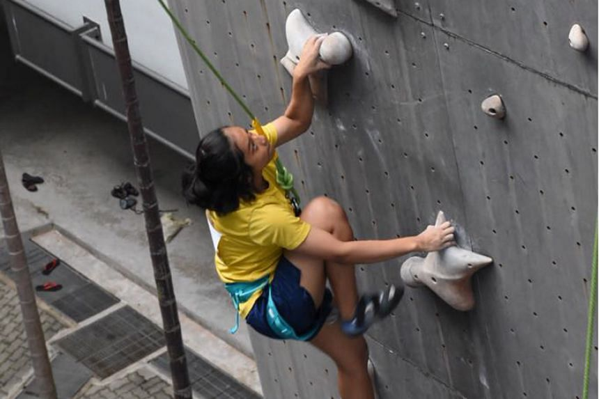 Outram Secondary School's Mariah Batrisyia finished first in the B Division female individual category of the 12th National Schools Speed Championship 2018.