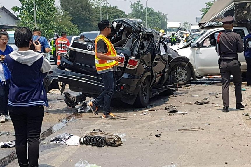 Road deaths, injuries rise in Thailand on first 2 days of