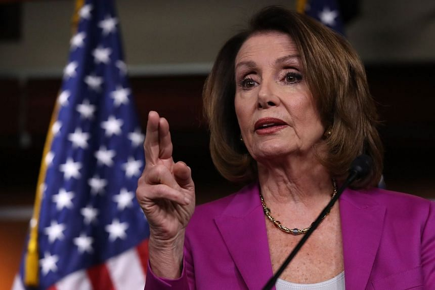 House Minority Leader Nancy Pelosi led calls for US President Trump to map out a detailed plan and present it to Congress if he wants to expand military action.