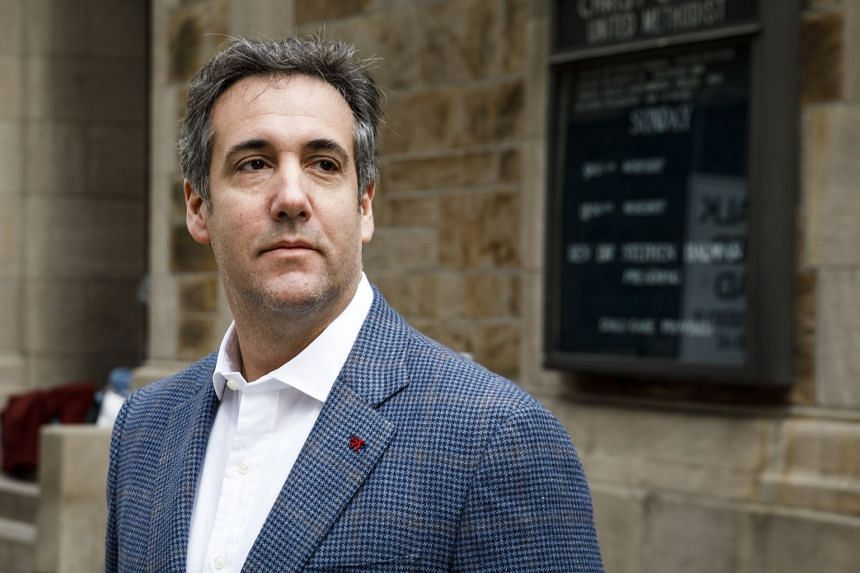 Mr Michael Cohen's computers and phones were seized on Monday by federal investigators.