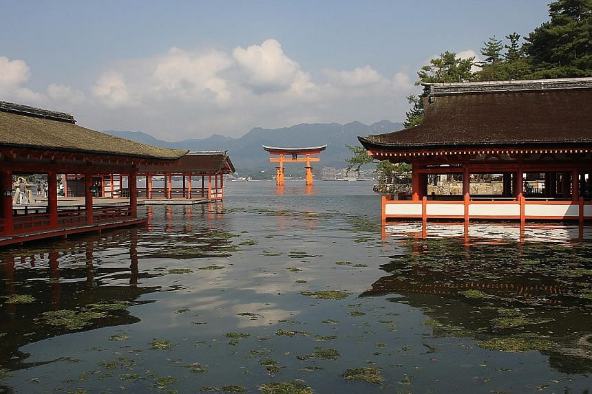 NEW WALK JAPAN TOUR: The tour also includes exploration of the inland sea (above) between three of Japan's four main islands.