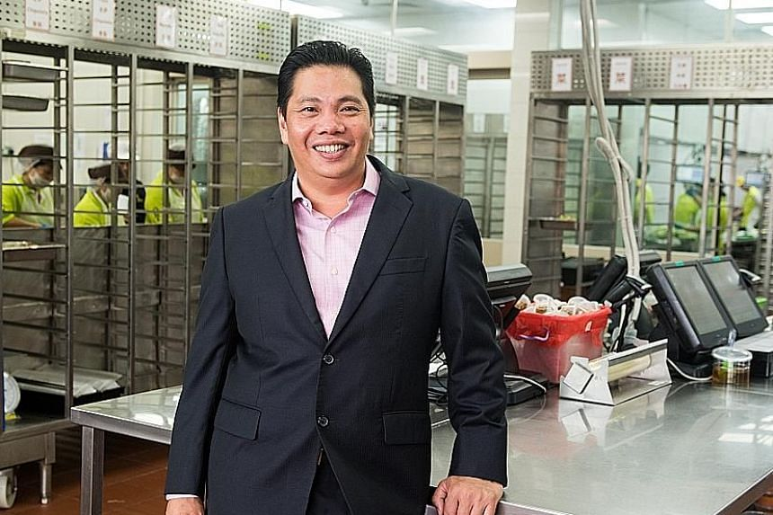 Mr Neo Kah Kiat says the firm aims to expand globally and is on the lookout for suitable acquisition targets and strategic partners in the F&B industry to strengthen its positioning as a fully integrated food solutions provider.