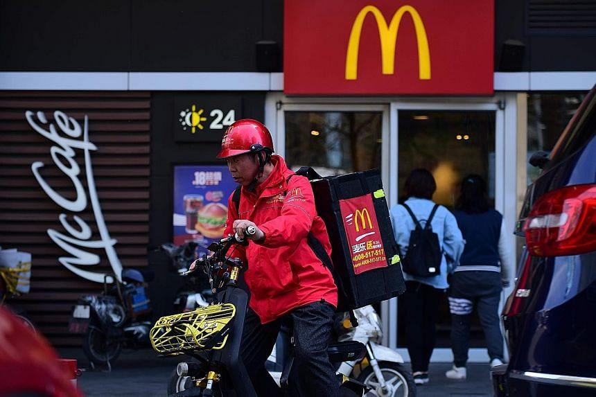 A McDonald's outlet in Beijing. Appeals to shun the likes of McDonald's, KFC and Apple's iPhone have appeared on the WeChat messaging app and the Weibo microblogging site in recent days, but it may be tough to convince Chinese consumers to give up Am