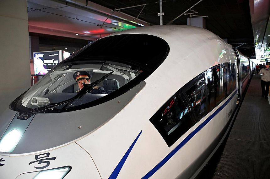 Many high-speed rail journeys in China are faster than flying.
