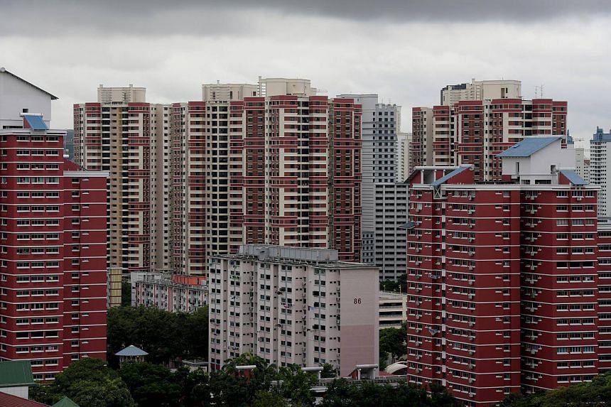 HDB flats in Bukit Merah in a photo taken on Jan 2, 2018.