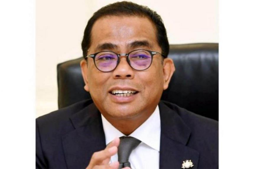 """We do not want to be a backyard to Singapore, we must catch up with the lion,"" said Datuk Seri Mohamed Khaled, who is Johor's Barisan Nasional chairman."