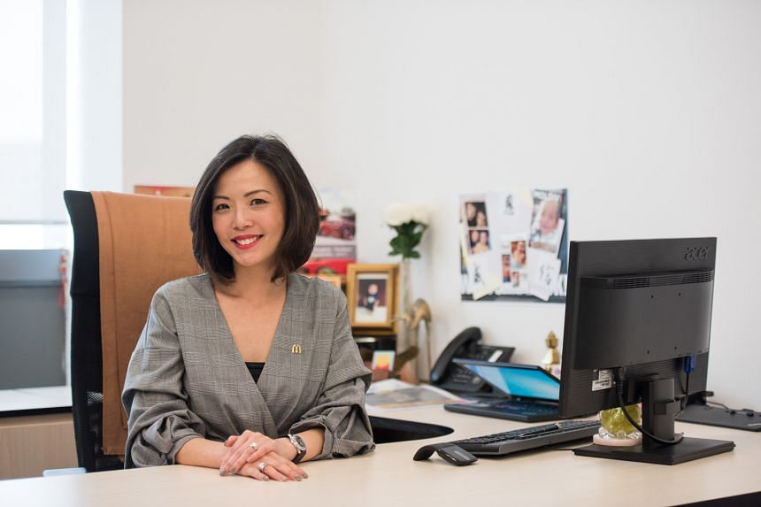 Lynn Hong, who holds a private university degree, is the HR director of McDonald's Singapore.