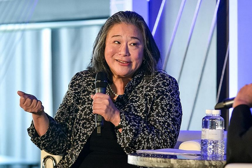 Ms Tina Tchen was in Singapore as the keynote speaker at Procter & Gamble's first Asia-Pacific #WeSeeEqual Symposium on April 2, where she shared her experiences in advocacy and working in the White House.