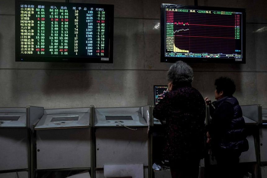 The Hang Seng index dropped 1.5 per cent to 30,355.93, while the Hong Kong China Enterprises Index lost 1.9 per cent to 12,031.73.