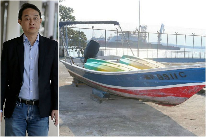 Chew Eng Han, who is currently in jail for misusing church funds, was nabbed on a motorised sampan during his alleged attempt to escape on Feb 21.