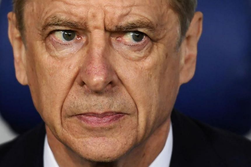 Arsenal's French manager Arsene Wenger before the UEFA Europa League quarter-final second leg football match between CSKA Moscow and Arsenal at the VEB Arena stadium in Moscow on April 12, 2018.