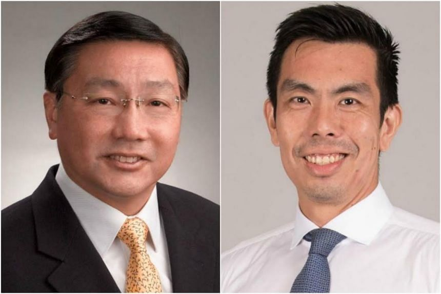 Chng Chai Kiat (right), who heads Dental Services at KK Women's and Children's Hospital, will replace Associate Professor Patrick Tseng as Singapore's chief dental officer on May 1.