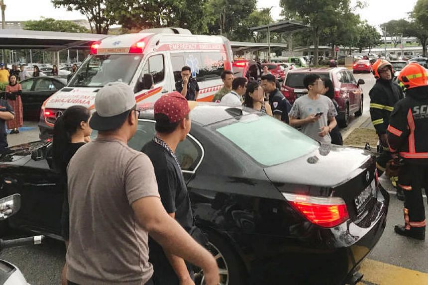 A one-year-old was trapped in a vehicle at a carpark at Singapore Expo on April 15, 2018. The incident occurred at around 5.40pm at the carpark near Expo Hall 5.