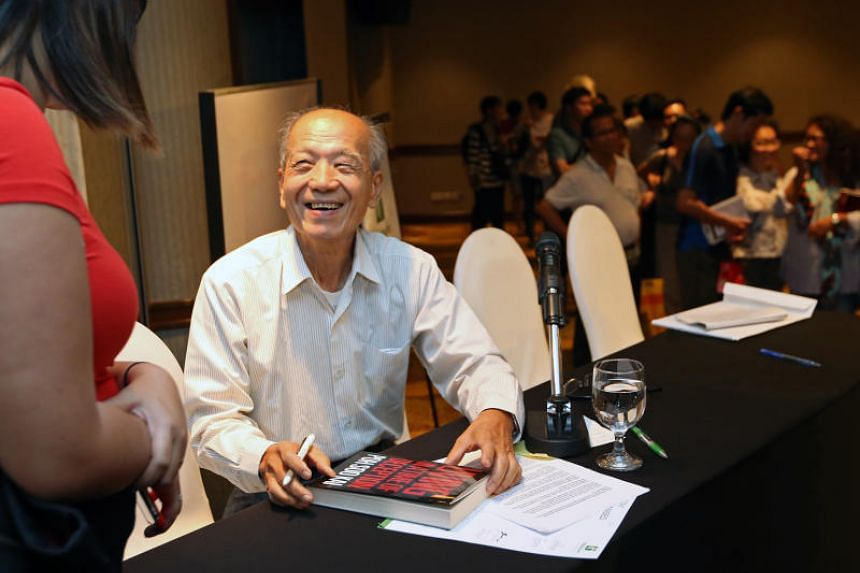 Former political detainee Poh Soo Kai at his book launch on Feb 13, 2016.