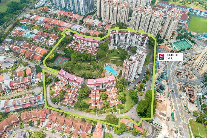 The site at Angklong Lane, next to Singapore's Central Nature Reserve amid Good Class Bungalows, landed housing and private condominiums, will be launched for sale by public tender on April 17, 2018.