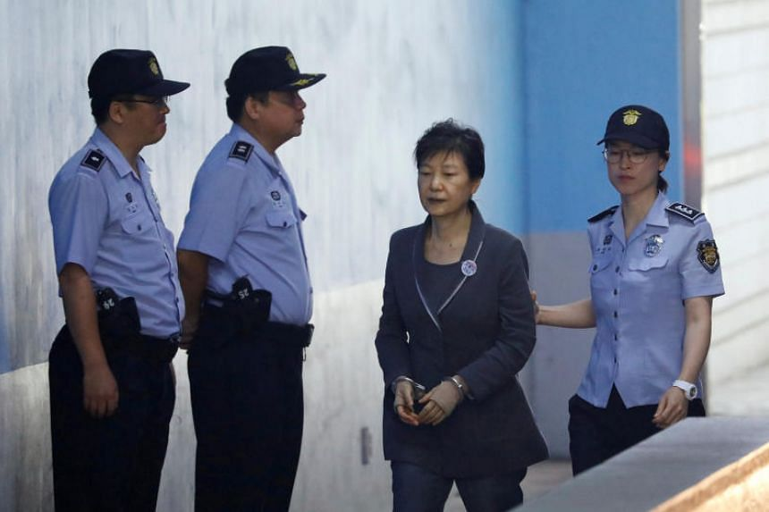 A lower court jailed former South Korean president Park Geun Hye for 24 years this month on charges including bribery, abuse of power and coercion.