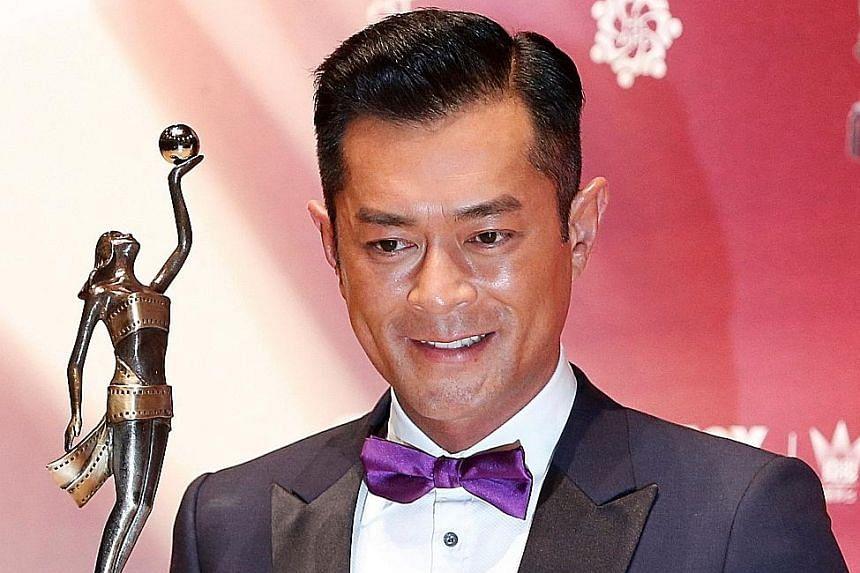 Louis Koo is Best Actor (Paradox).