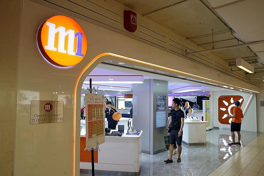 M1's earnings were given a lift because of higher turnover from mobile and fixed services. The telco's revenue also rose, due to increased fixed services and mobile telecoms.