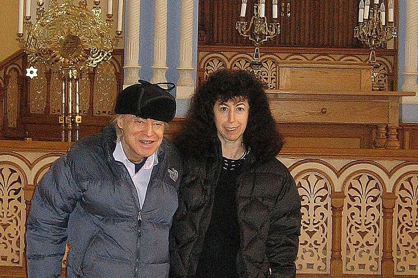 Dr Carol Berman and her husband, Marty, in 2006. Mr Berman began to show signs of dementia when he turned 74, and later developed Capgras syndrome. Though much is unknown about why this condition occurs, researchers have said answers lie in how the c