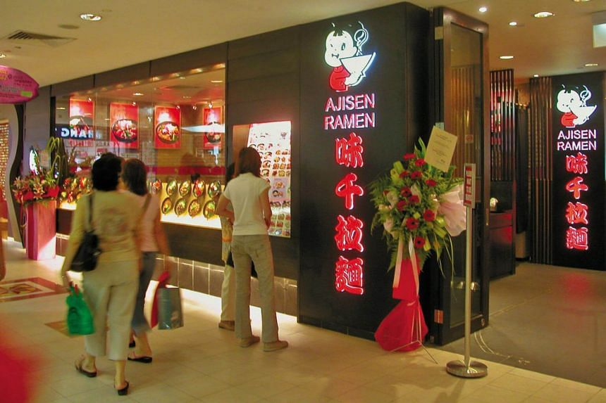 Shares in Japan Foods Holding, which also owns Ajisen Ramen in markets including Singapore, Malaysia and Hong Kong, last traded unchanged at S$0.465 apiece on April 4.