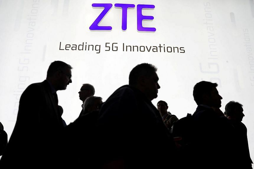 The ban is a result of ZTE's failure to comply with an agreement with the US government after it pleaded guilty last year to conspiring to violate US sanctions by illegally shipping US goods and technology to Iran.