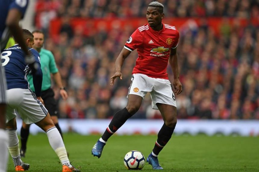Manchester United midfielder Paul Pogba (pictured) and Barcelona winger Ousmane Dembele were allegedly targeted by racist chanting during the match in Saint Petersburg last month.