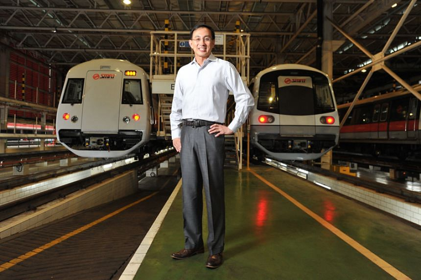 SMRT chief executive Desmond Kuek took over the helm of the rail operator in October 2012.