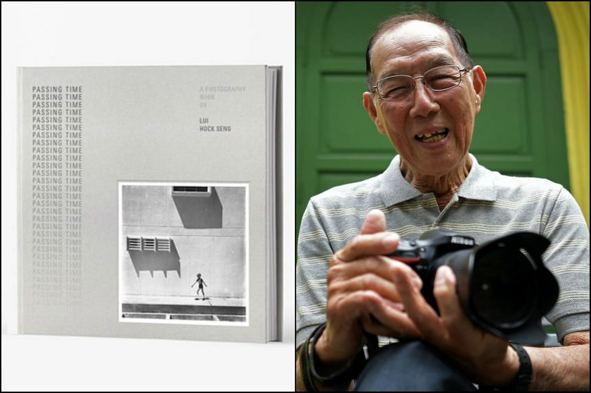 Photographer Lui Hock Seng's book, Passing Time, features a collection of 80 black and white photographs taken from the 1960s to 1970s.