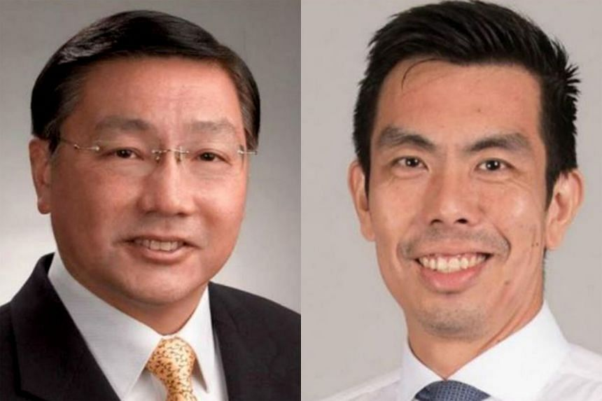 Prof Patrick Tseng (left) will be succeeded by Dr Chng Chai Kiat as chief dental officer at the Ministry of Health as well as Registrar of the Singapore Dental Council.