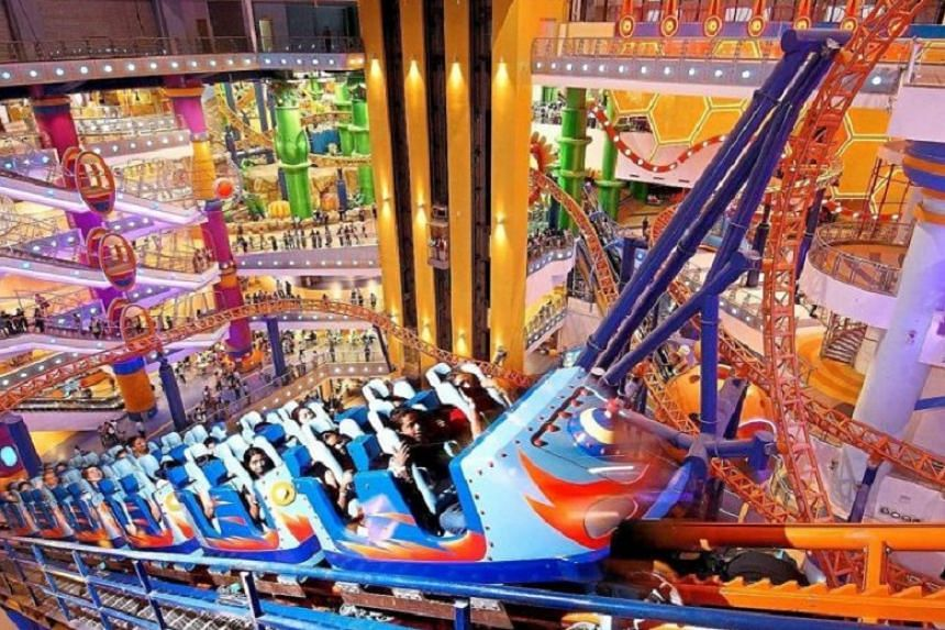 Thrill-seekers will find plenty to shriek about at the Berjaya Times Square Theme Park.