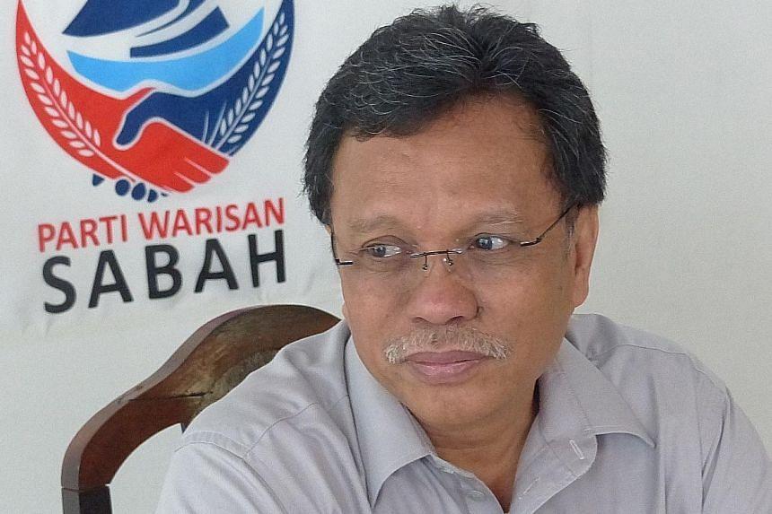 SABAH POLITICIAN SHAFIE APDAL