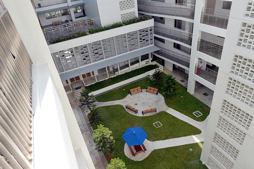 """Acacia Home's new building comprises space - featuring a shared bedroom and kitchen - that serves as a """"training ground"""" for the residents to prepare themselves for living in the community again."""