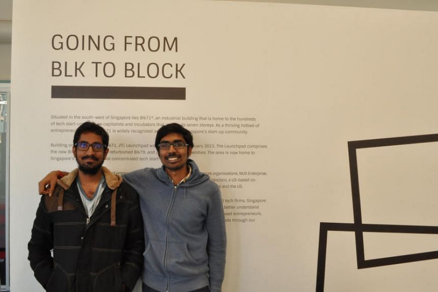 Founders of Dexecure Inian Parameshwaran (right) and Murali Srirangam Ramanujam.