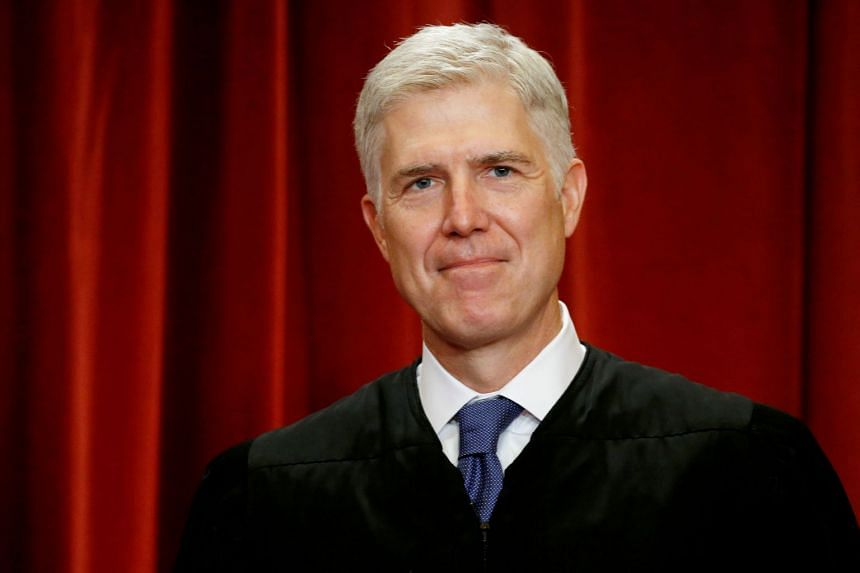 Justice Neil Gorsuch, US President Donald Trump's only appointee to the top US court, joined in a 5-4 ruling stating that the legal definition of a crime of violence was too vague.