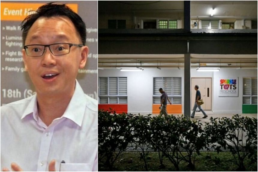 Jurong GRC MP Tan Wu Meng was talking to a resident during his Meet-the-People Session in Clementi (right) when a man dashed towards him and began punching him.