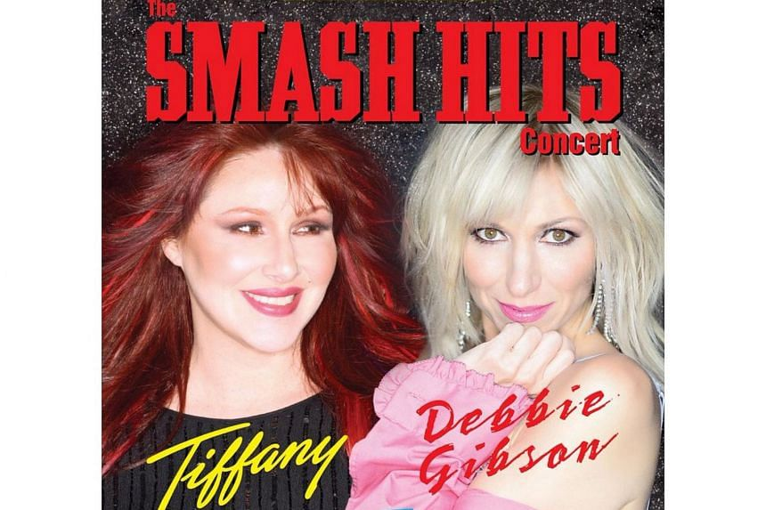 Pop stars Tiffany and Debbie Gibson will be performing at The Star Theatre on Sept 8.