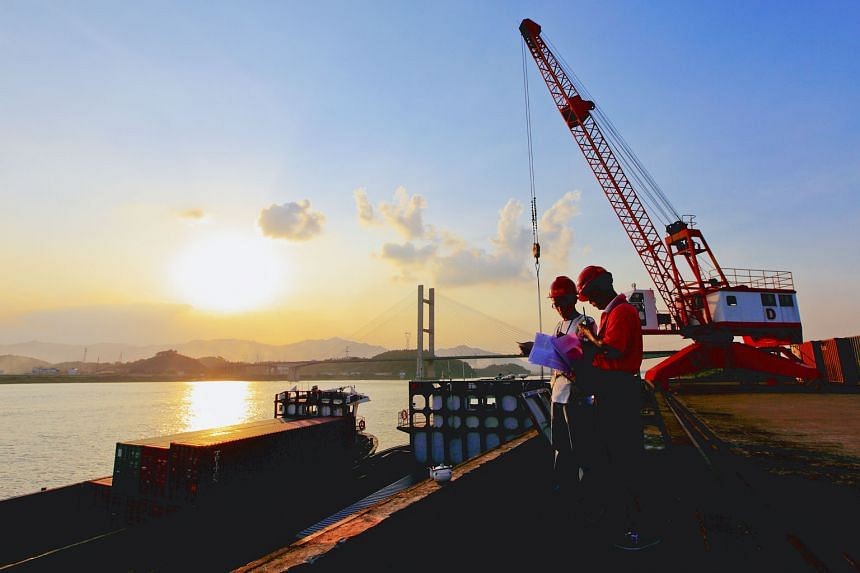 Keppel T&T is one of the leading Singaporean logistics service providers in China, with operations in five cities, including Foshan (right) in Guangdong. A strategic review of its China logistics portfolio is on.