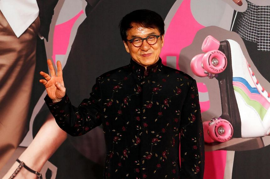 Actor Anthony Wong apologised to Jackie Chan (above) after his speech at the Hong Kong Film Awards was characterised in some reports as an attack on the martial arts star. PHOTOS: