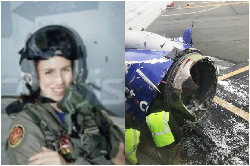 One of the first female fighter pilots in the US Navy, Tammy Jo Shults calmly told air traffic control that part of her plane was missing, and she would need ambulances on the runway.