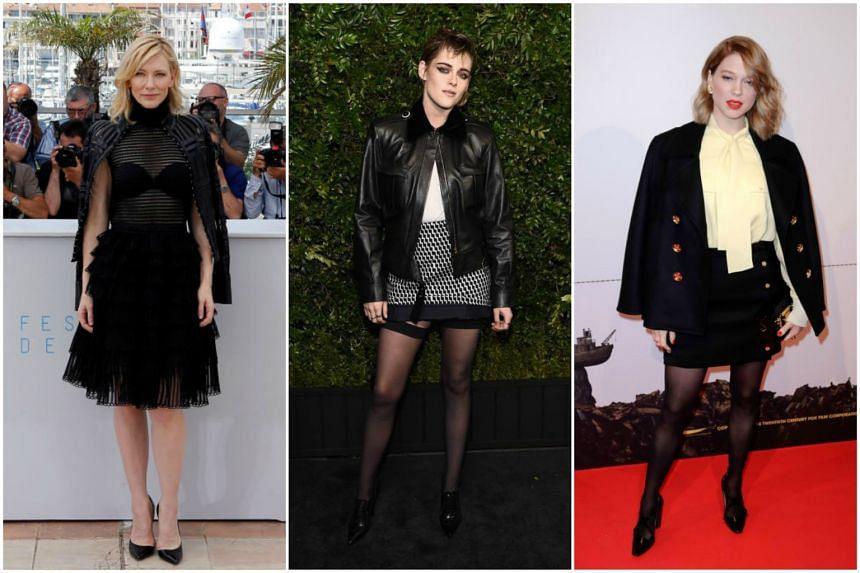 Hollywood actresses (from left) Cate Blanchett, Kristen Stewart and Lea Seydoux will head a starry and majority-female jury at the Cannes film festival next month.