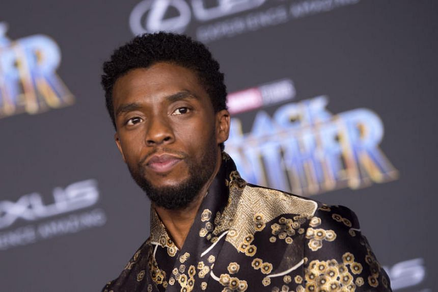 Actor Chadwick Boseman attending the world premiere of Marvel Studios' Black Panther in Hollywood, California.