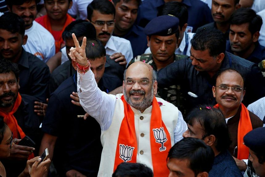 Amit Shah, president of the ruling Bharatiya Janata Party, had been accused of ordering extra judicial killings in 2005 while serving as home minister in the western state of Gujarat.