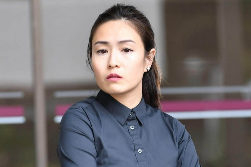 Cheryl Sng Yu Qin, 33, pleaded guilty in a district court to three charges: assaulting her mother, using abusive words on Staff Sergeant Gerald Ng Yong Sheng and obstructing him from performing his duties.